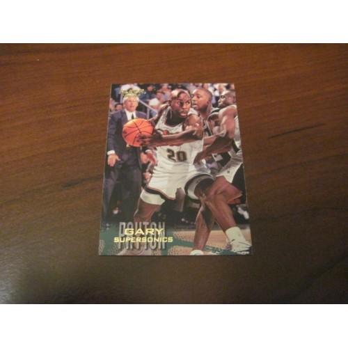 1996 1997 Fleer Basketball Card 103 Gary Payton Oregon State Seattle