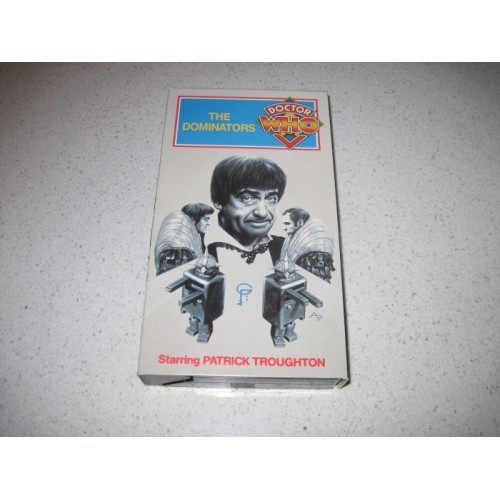 Doctor Who Dominators VHS Patrick Troughton Like New Condition