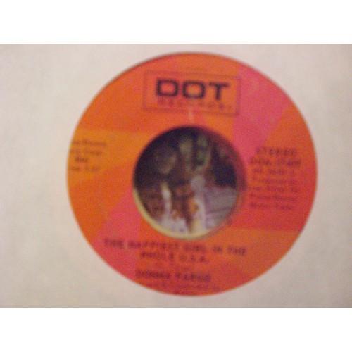 45 RPM: #4040.. DANNA FARGO - THE AWARENESS OF NOTHING /  DOT 17409 / VG/VG+