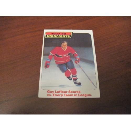 1978 1979 Topps Hockey Card 3 Guy LaFleur NM