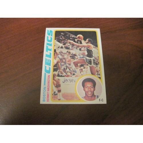 1978 1979 Topps Basketball Card 16 Kermit Washington American Univeristy Boston
