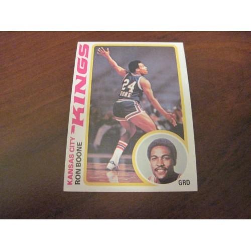 1978 1979 Topps Basketball Card 49 Ron Boone Idaho State University LA Lakers