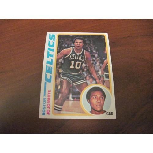1978 1979 Topps Basketball Card 85 Jojo Jo Jo White Kansas Boston Celtics