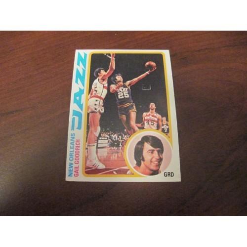 1978 1979 Topps Basketball Card 95 Gail Goodrich UCLA LA Lakers