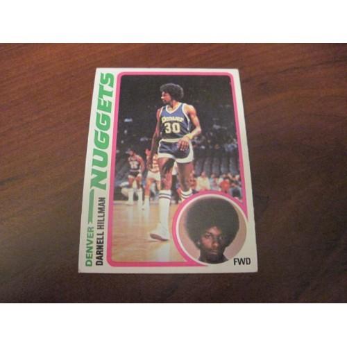 1978 1979 Topps Basketball Card 119 Darnell Hillman San Jose State