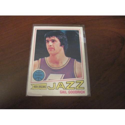 1977 1978 Topps Basketball Card 77 Gail Goodrich UCLA LA Lakers