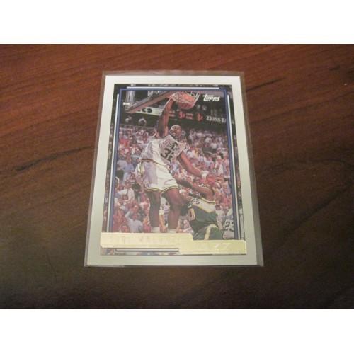 1992 1993 Topps Basketball GOLD Insert Card 20 Karl Malone Louisiana Tech Utah