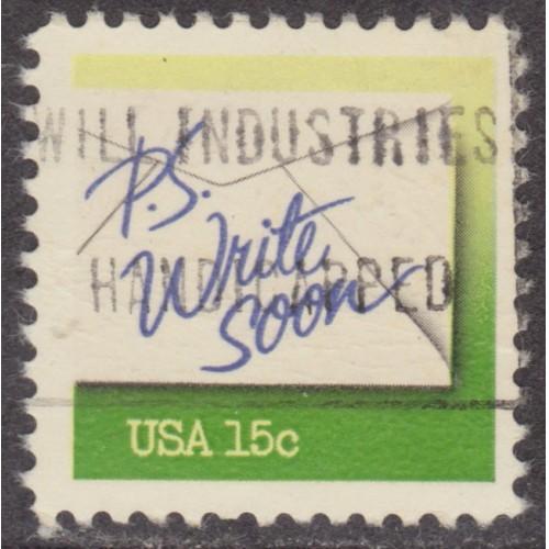 USED SCOTT #1808 (1980)