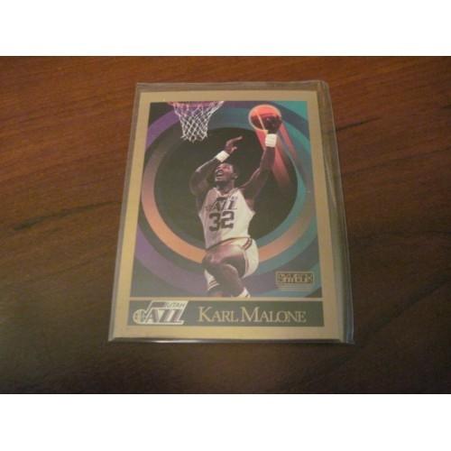 1990 1991 Skybox NBA Basketball Card 282 Karl Malone Louisiana Tech Hi Grade