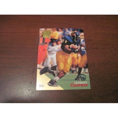 1994 Classic NFL Football College Draft Gold Card 51 Lindsey Chapman California
