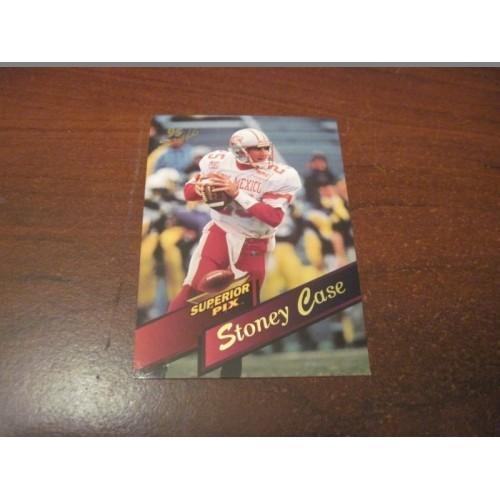 1995 Classic NFL Football College Draft Card Stoney Case New Mexico Quarterback
