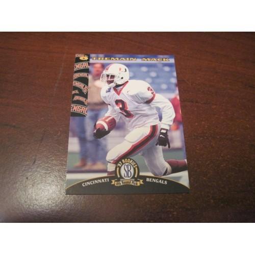 1997 Classic NFL Football College Draft Card 22 Tremain Mack Miami Florida