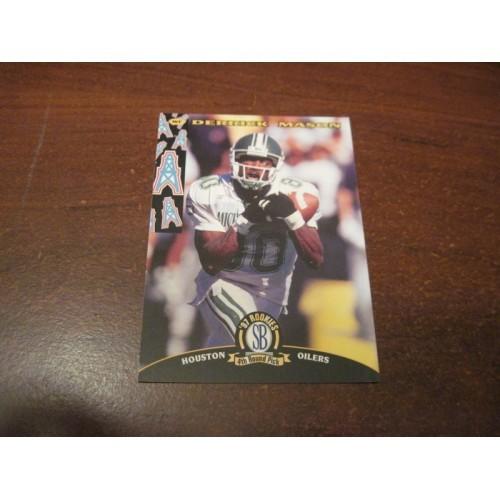 1997 Classic NFL Football College Draft Card 52 Derrick Mason Michigan State