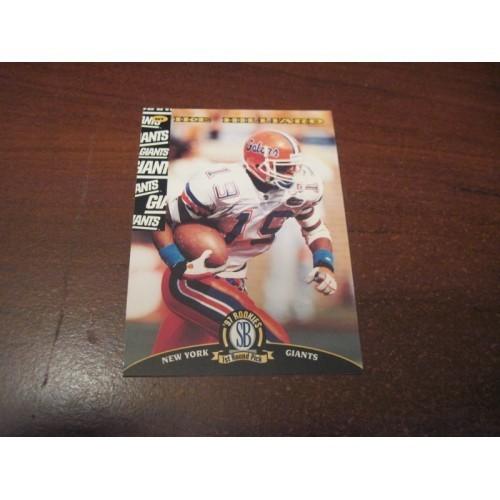1997 Classic NFL Football College Draft Card 59 Ike Hilliard Florida New York