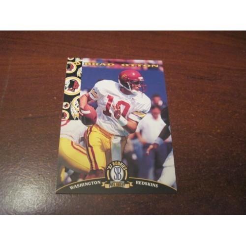 1997 Classic NFL Football College Draft Card 76 Brad Otten USC Quarterback