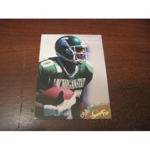 1997 Dream Picks NFL Football College Draft M44 Derrick Mason Michigan State