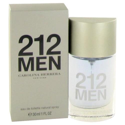 212 By CAROLINA HERRERA FOR MEN 1 oz Eau De Toilette Spray (New Packaging)
