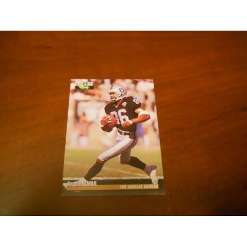 1995 Pro Line Football Card Raghib Rocket Ismail Notre Dame Oakland Raiders