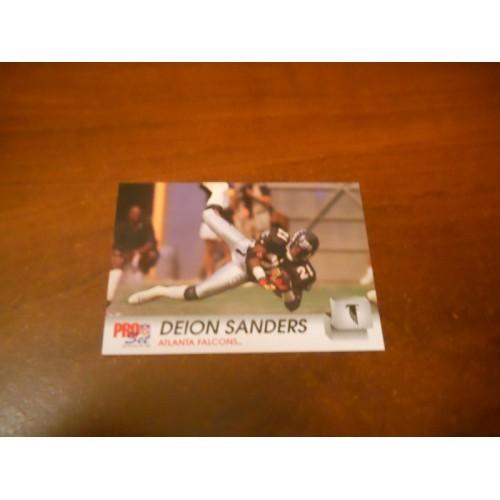 1992 Pro Set Football Card 434 Deion Sanders Florida State Dallas Cowboys