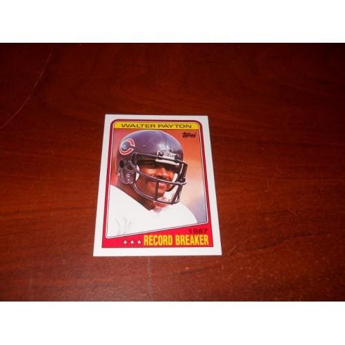 1988 Topps Football Card 5 Walter Payton Jackson State Chicago Bears