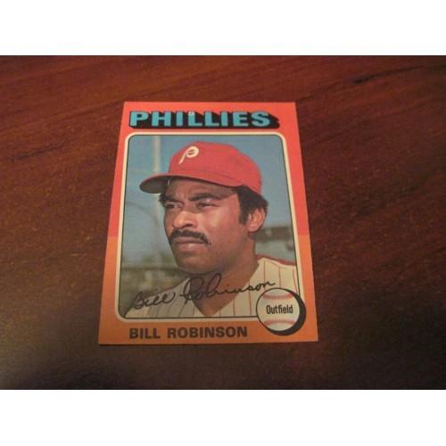 1975 Baseball Card 501 Bill Robinson Philadelphia Phillies Ptttsburgh Pirates