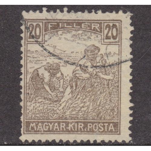 USED HUNGARY #115 (1916)