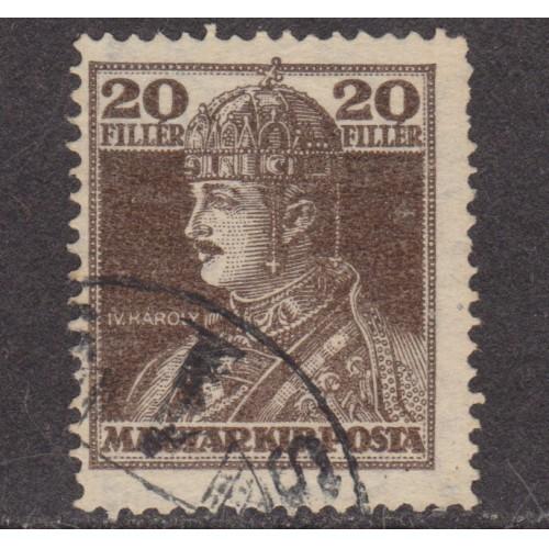 USED HUNGARY #129 (1918)
