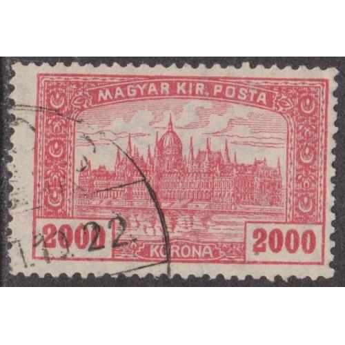 USED HUNGARY #377 (1924)