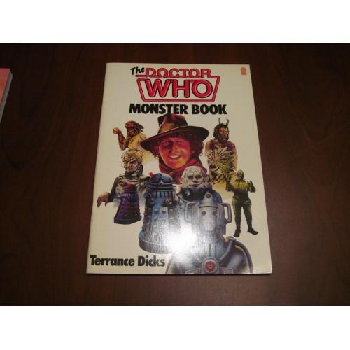 Doctor Who Monster Book Cybermen Daleks Ice Warriors Sea Devils Davros