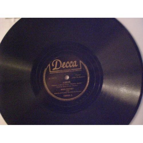 78 RPM: #242.. BING CROSBY - AMOR & LONG AGO / DECCA 18608 .. VG/VG+