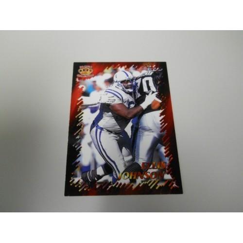1996 Pacific Best Kept Secrets Football Card BKS39 Ellis Johnson Florida Colts