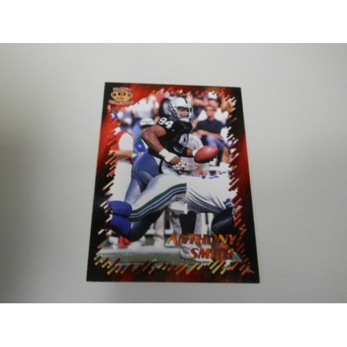 1996 Pacific Best Kept Secrets Football Card BKS72 Anthony Smith Syracuse