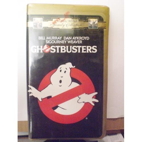 VHS TAPE: #188 GHOSTBUSTERS - BILL MURRAY, DAN AYKROYD, SIGOURNEY WEA