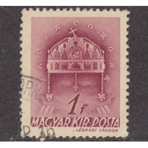 USED HUNGARY #537 (1939)