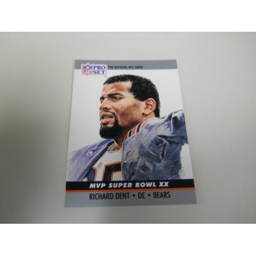 1990 Pro Set Football Card Super Bowl 20 Richard Dent Chicago Bears