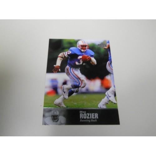 1992 Upper Deck Legends Football Card 36 Mike Rozier Nebraska Houston Oilers