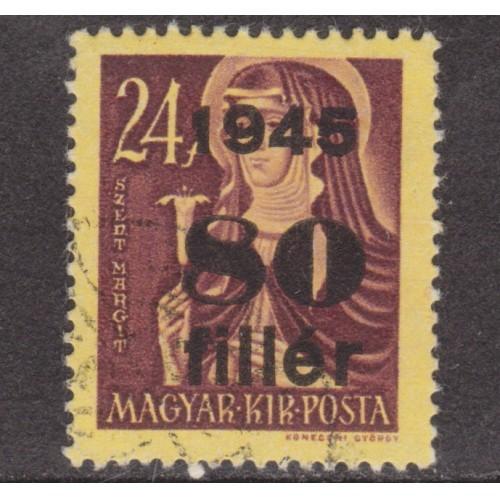 USED HUNGARY #683 (1945)