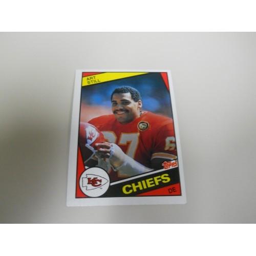 1984 Topps Football 96 Art Still Kentucky Kansas City Chiefs Hi Grade