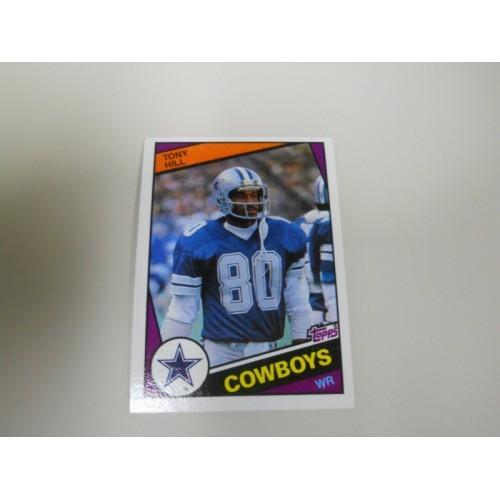 1984 Topps Football 241 Tony Hill Stanford University Dallas Cowboys