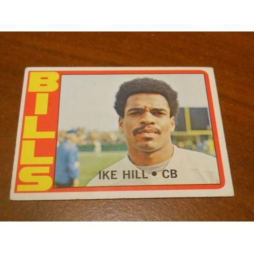 1972 Football Card 83 Ike Hill Catawba College Buffalo Bills ROOKIE RC