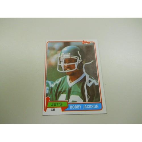 1981 Topps Football Card 363 Bobby Jackson Florida State New York Jets