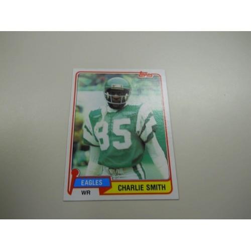 1981 Topps Football Card 523 Charlie Smith Grambling Philadelphia Eagles
