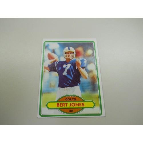 1980 Topps Football Card 45 Bert Jones LSU Louisiana State Baltimore Colts