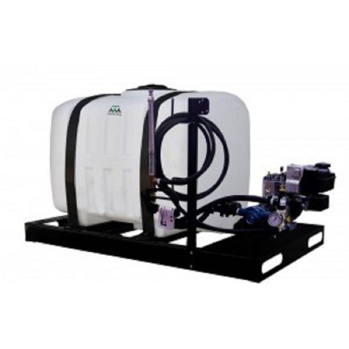 Master Manufacturing 200 Gallon Skid Sprayer with 3.5 HP Delavan Roller Pump