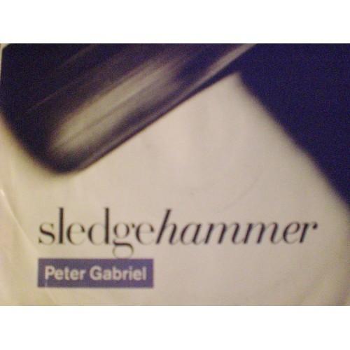 45 RPM PC: #4497.. PETER GABRIEL - SLEDGEHAMMER & DON'T BREAK THIS RHYTHM