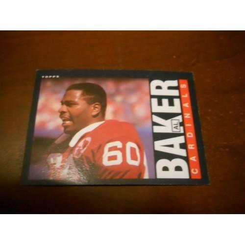 1985 Topps Football Card 139 Al Baker Colorado State St Saint Louis Cardinals