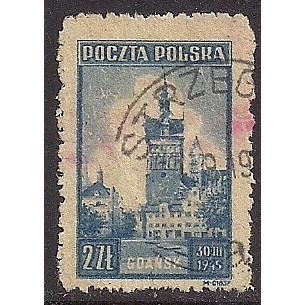 (PO) Poland Sc# 371 Used