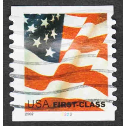 United States - Scott #3622 Used Plate # Single (1)
