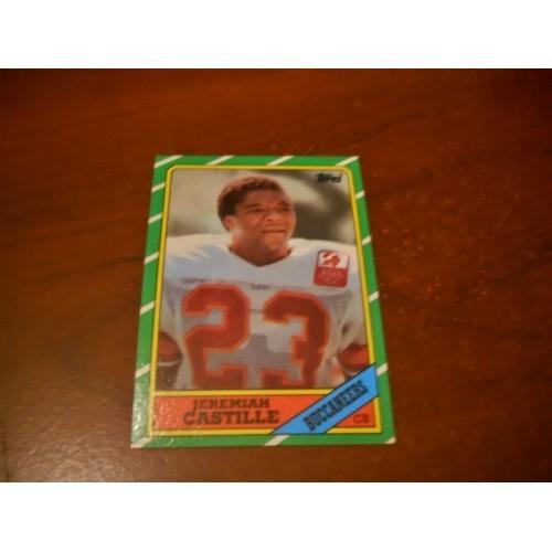 1986 Topps Football Card 382 Jeremiah Castille Alabama Tampa Bay