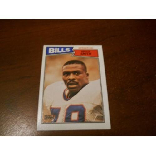 1987 Topps Football Card 369 Bruce Smith Virginia Tech Buffalo Bills